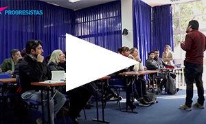 VIDEO | Así fue la inauguración de la Escuela de Formación Progresista