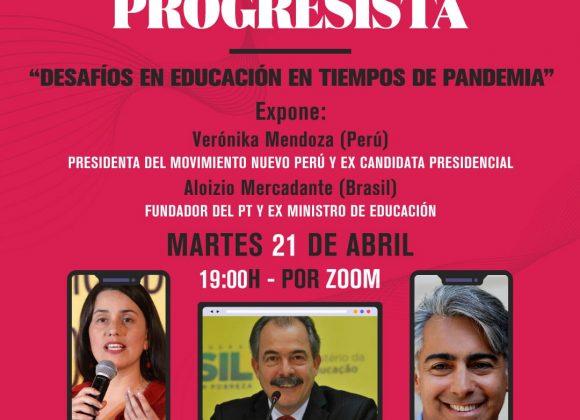 Taller virtual organizado por la Fundación Progresa, liderada por Marco Enríquez-Ominami, analizará el desafío educativo de la pandemia