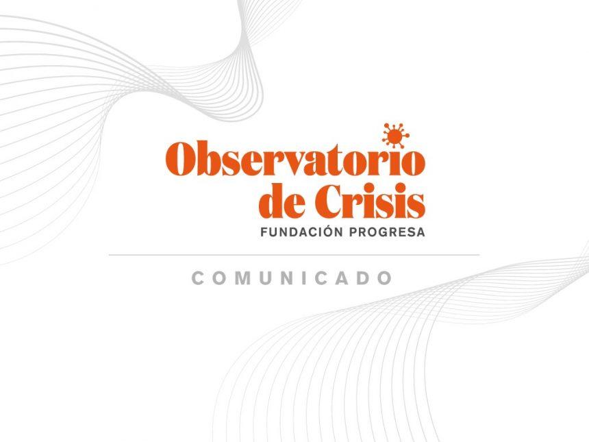 Progresistas lanzan Observatorio para enfrentar crisis de pandemia en alianza con Centro de Estudios de Brasil