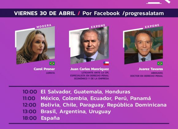 El Lawfare en Chile y el caso de Marco Enríquez-Ominami: Grupo de Puebla celebró su noveno taller de trabajo
