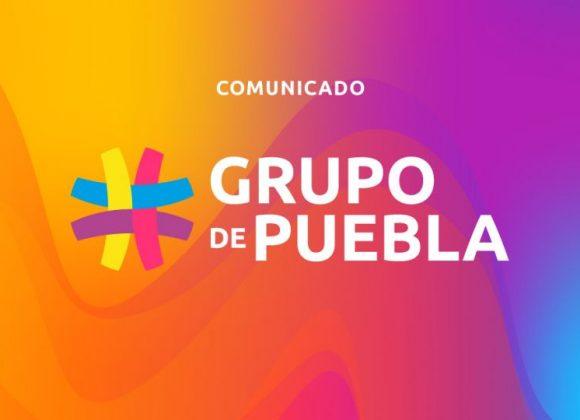 Comunicado del Grupo de Puebla sobre la propuesta del gobierno de México para crear un espacio de cooperación regional