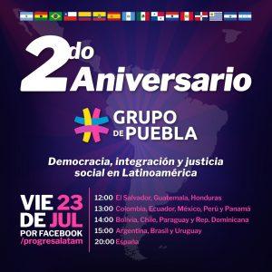 A dos años de la creación del Grupo de Puebla para la lucha por la democracia, movimiento suma 16 países, 52 líderes y 4 gobiernos